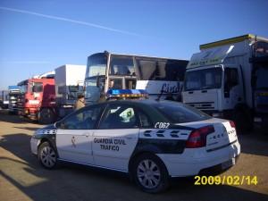 Vehículos Caravana Por la Paz 2009