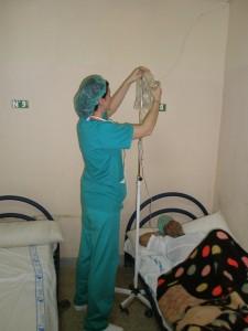 Paciente en el preoperatorio