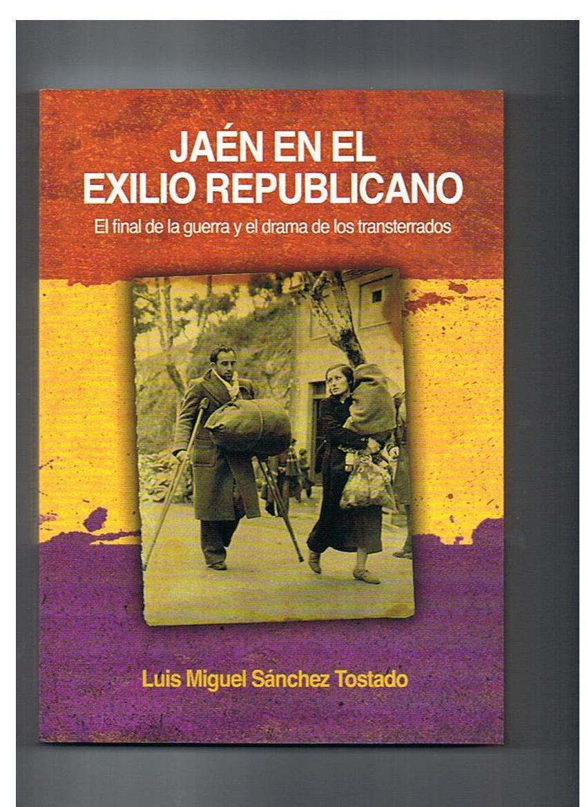 Portada libro Jaén en exilio